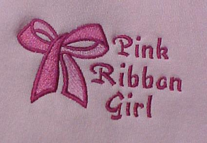 Breast Cancer Awareness Pink Ribbon Girl Bow Pink Sweatshirt L