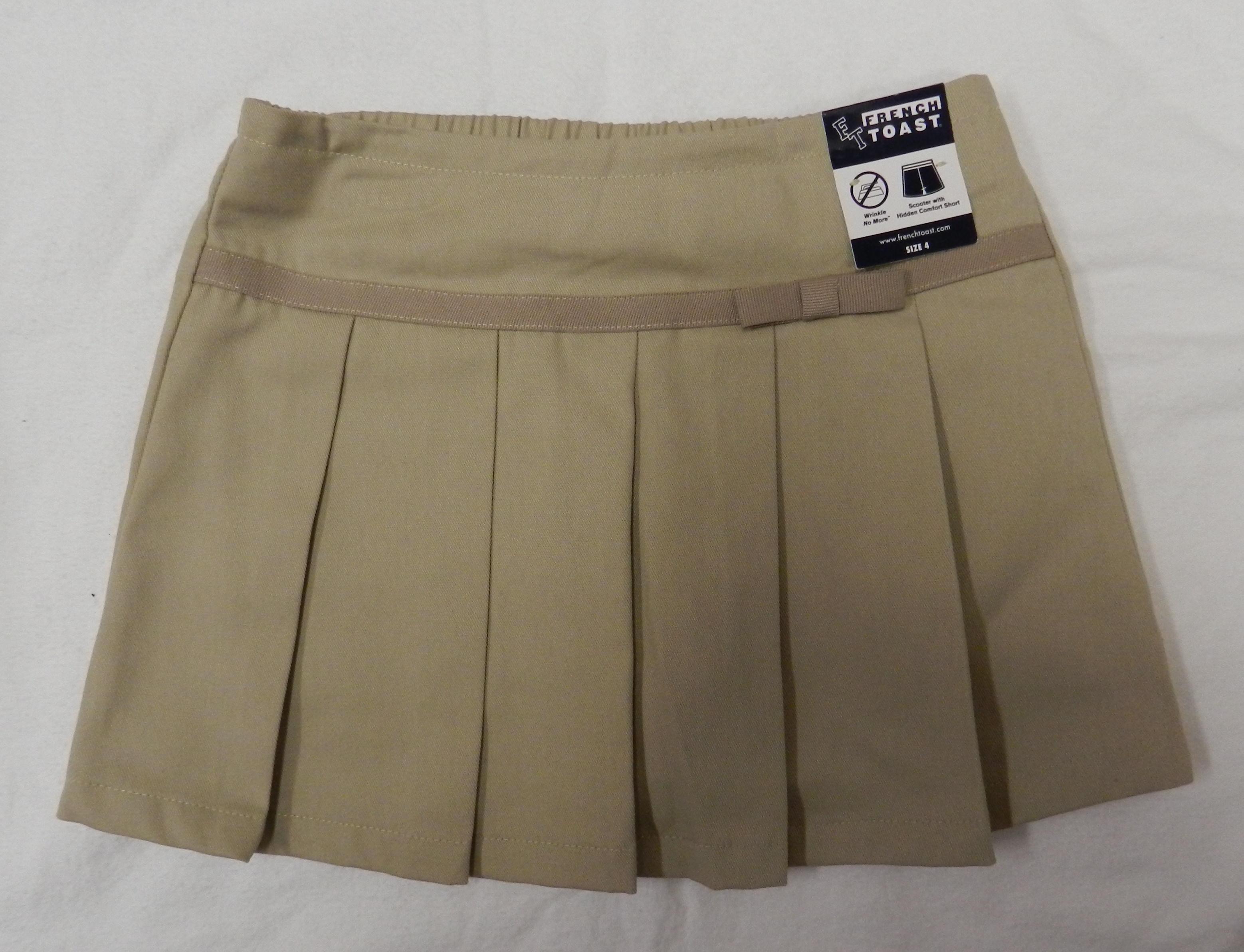 Khaki Uniform Skirts 103