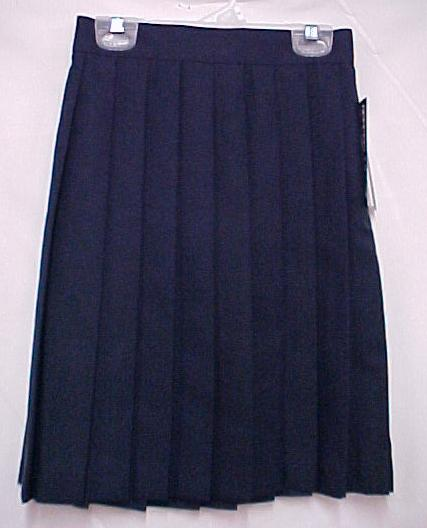 navy blue school pleated skirt nwt size 5