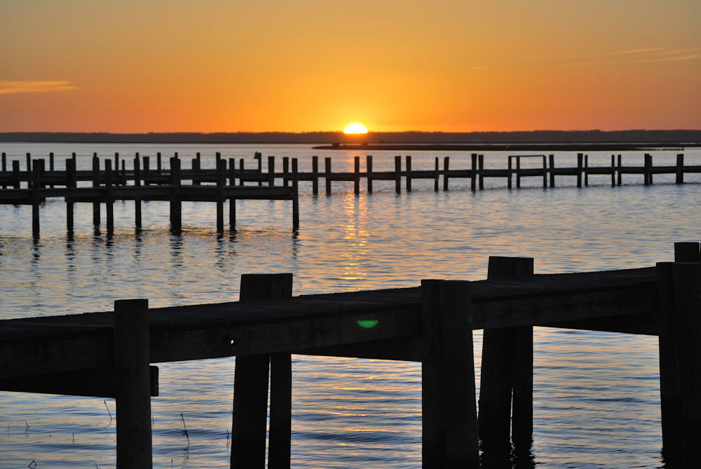 Chincoteague Sunset - February 23, 2017