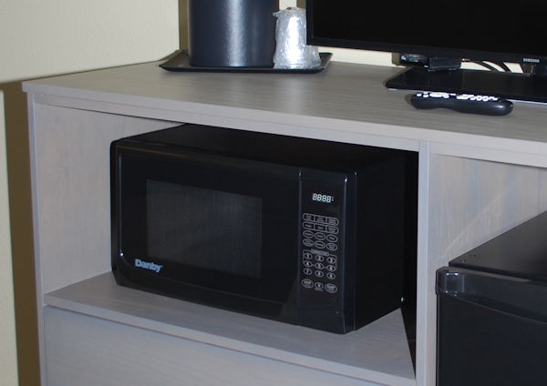 hotel microwave