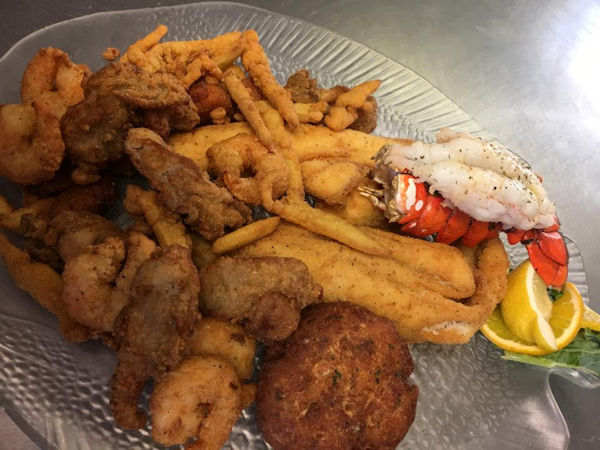 The Village Restaurant Seafood Platter