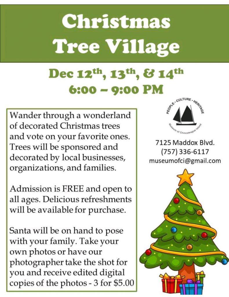 Christmas Tree Village